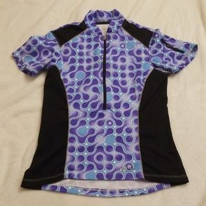 Terry Cycling Jersey Size Small